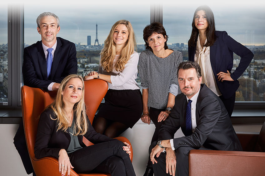 Equipe commerciale Allianz Real Estate France